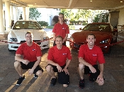 Valet parking traffic control Del Paso country club